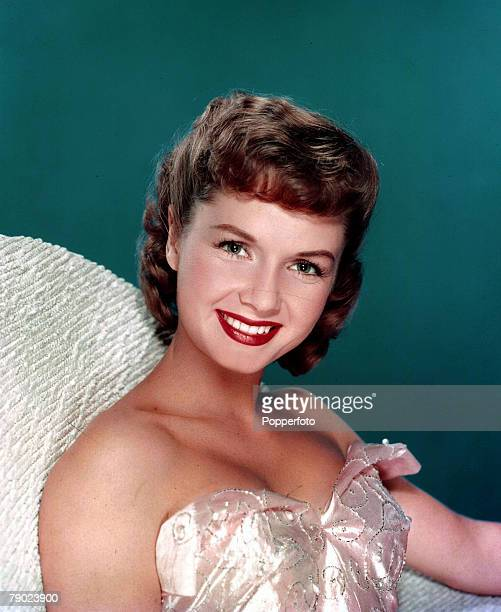 Cinema American stage and screen actress Debbie Reynolds Portrait Circa 1950s