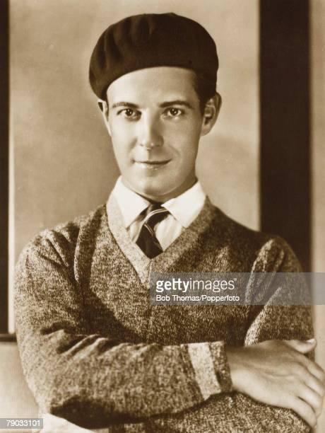 Cinema Film Actors Circa 1920 A picture of the American screen star Ramon Novarro