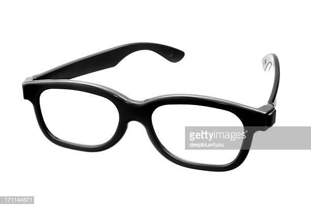 Kino Brille, isoliert auf weiss
