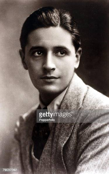 Cinema Music Personalities circa 1930'sBritish composer Ivor Novello portrait born in Wales he was famous as a composer actor and playwright who...