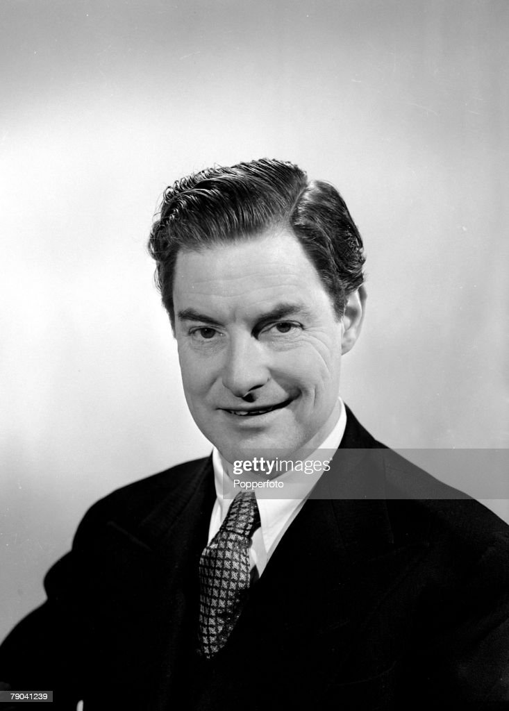 1949, A portrait of Robert Donat, the English actor and film star who won an Oscar in the 1939 film 'Goodbye Mr,Chips'