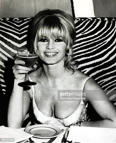 19th December1965 French film actress Brigitte Bardot pictured celebrating in New York after finishing the film 'Viva Maria' Brigitte Bardot first...