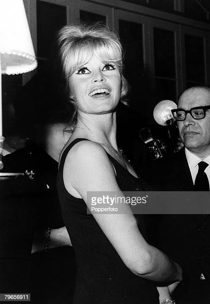 24th April 1963 French film actress Brigitte Bardot pictured in Rome where she is to appear in the Carlo Ponti produced film 'The Contempt' Carlo...