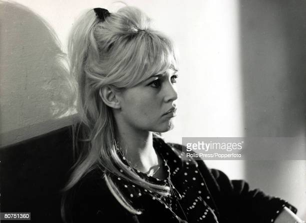 30th January 1964 French film actress Brigitte Bardot pictured in a relaxed casual portrait Brigitte Bardot first appeared on screen in 1952 married...