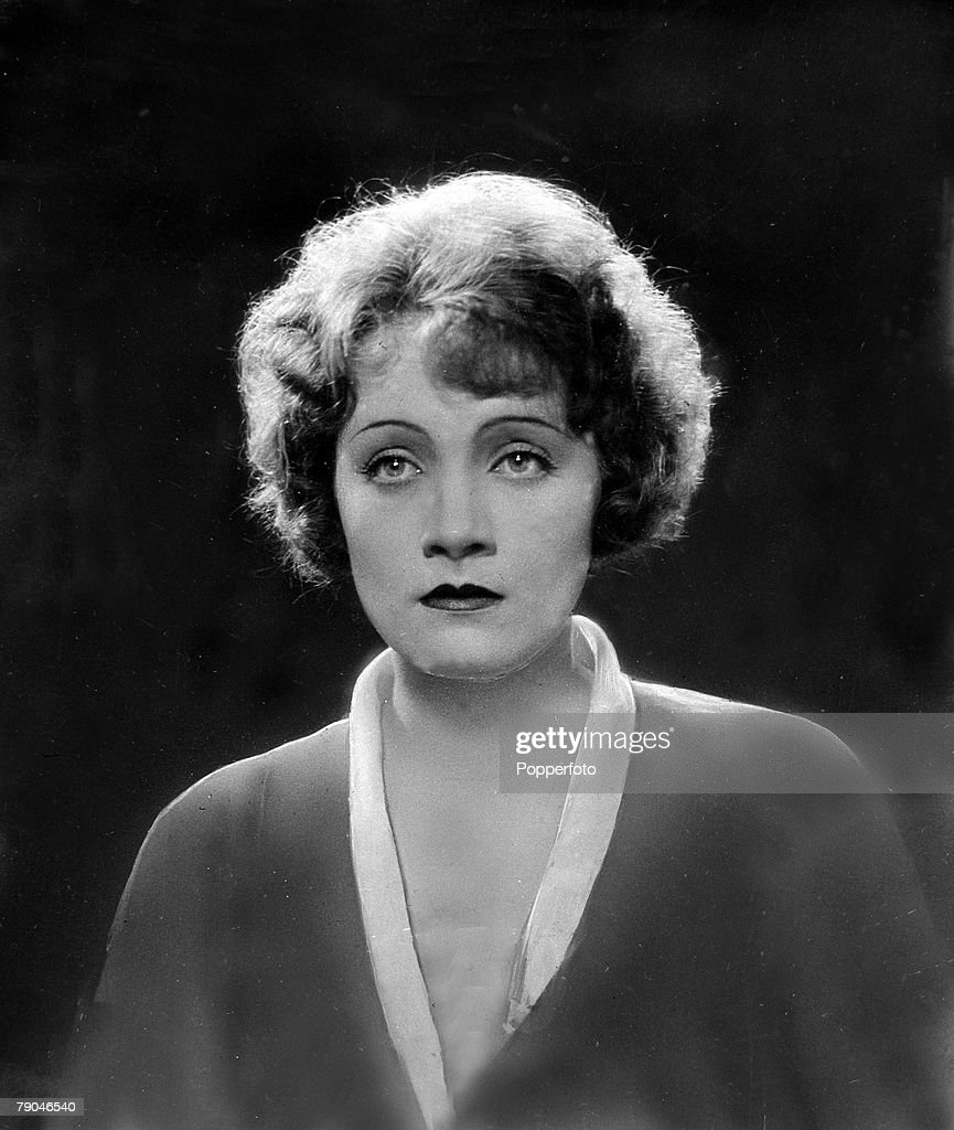 circa 1929, Marlene Dietrich, (1901-1992) pictured in the film 'The Woman Whom One Desires', A German born actress who first won fame in the film 'The Blue Angel' in 1930, she went to Hollywood and became a U,S,citizen in 1937, She had a husky sultry singing voice which added to her appeal