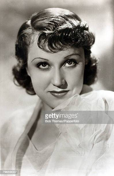 circa 1930's Canadian born actress Fay Wray born 1907 among her 1930's films was 'King Kong' 1933