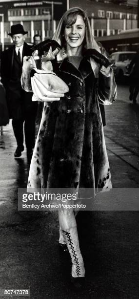 12th December 1966 Swedish film and stage actress Bibi Andersson born 1935 pictured at London Airport She appeared in films from the mid 1950's and...