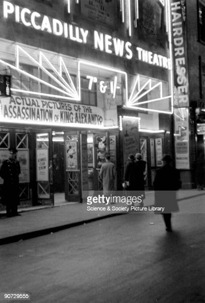 Cinemas played a vital role in everyday life before ownership of television sets became widespread People visited cinemas to find out the latest news...