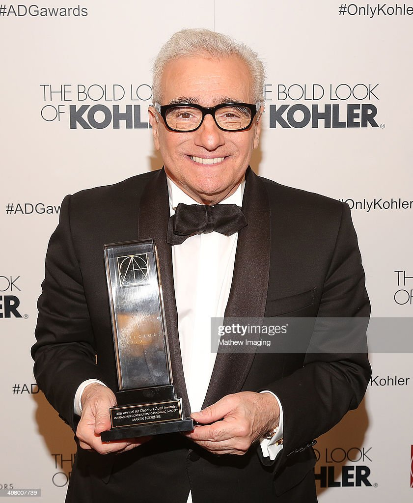 Cinematic Imagery Award Honoree <a gi-track='captionPersonalityLinkClicked' href=/galleries/search?phrase=Martin+Scorsese&family=editorial&specificpeople=201976 ng-click='$event.stopPropagation()'>Martin Scorsese</a> at the 18th Annual ADG Awards held at The Beverly Hilton Hotel on February 8, 2014 in Beverly Hills, California.