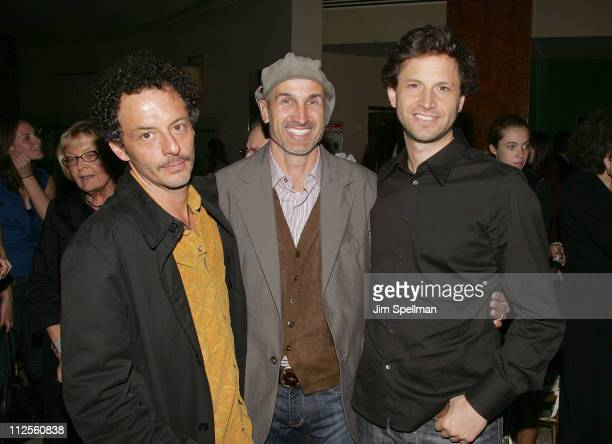 Cinematographer Adam Kimmel Directors Craig Gillespie and Bennett Miller attend the 'Lars and the Real Girl' Premiere After Party at The Brasserie 8...