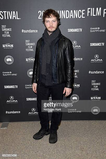 Cinematographer Ben Richardson attends the 'Wind River' premiere on day 3 of the 2017 Sundance Film Festival at Eccles Center Theatre on January 21...