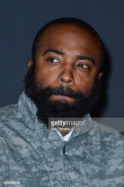 Cinematographer Bradford Young attends the 'Middle Of Nowhere' Closing Night Premiere 2012 Urbanworld Film Festival at AMC 34th Street on September...