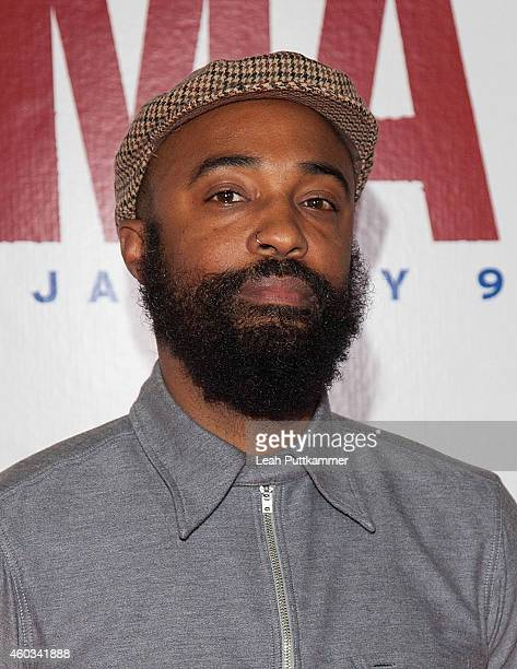 Cinematographer Bradford Young attends the Washington DC Premiere of 'Selma' at The Newseum on December 11 2014 in Washington DC