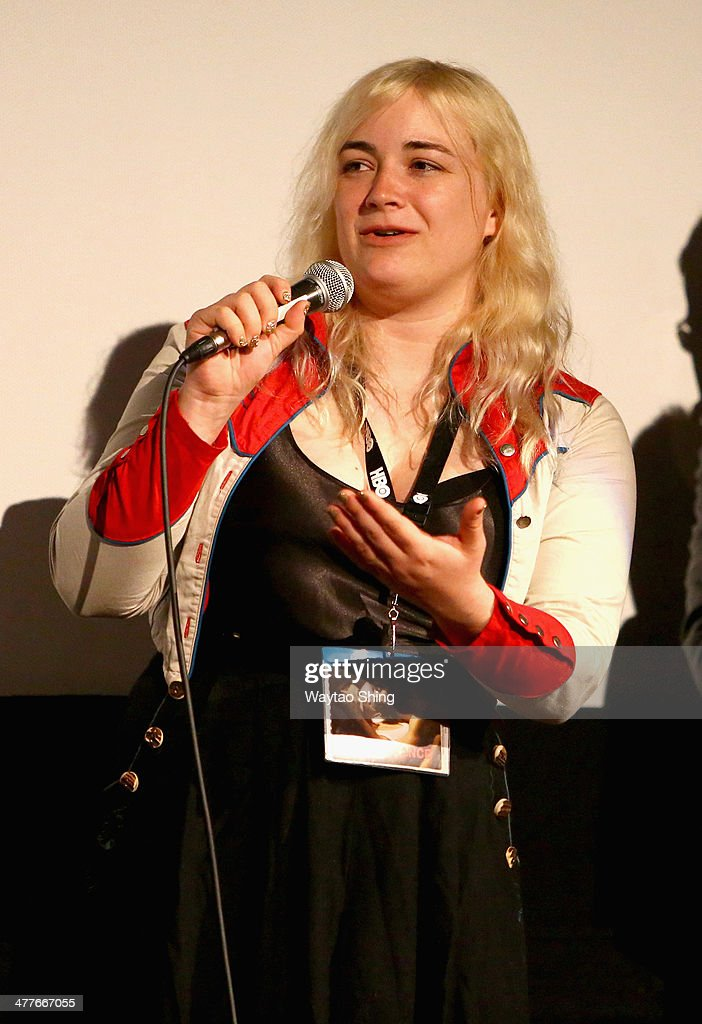Cinematographer Dagmar Weaver-Madsen speaks onstage at the '10,000KM (Long Distance)' Photo Op and Q&A during the 2014 SXSW Music, Film + Interactive Festival at Alamo Ritz on March 10, 2014 in Austin, Texas.