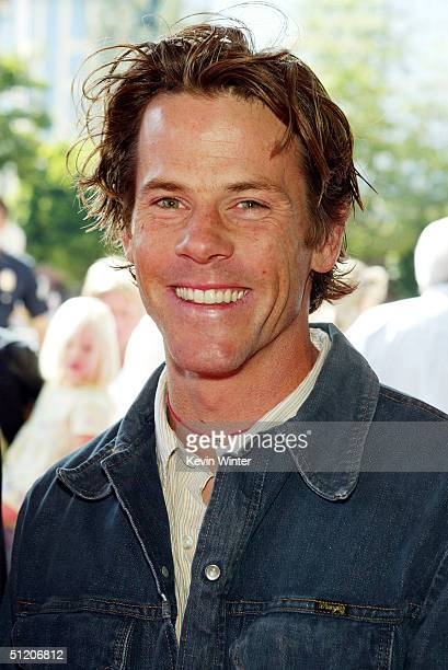 Cinematographer Daniel Moder husband of actress Julia Roberts poses at the world premiere of 'Grand Champion' at the Crest Theatre on August 22 2004...