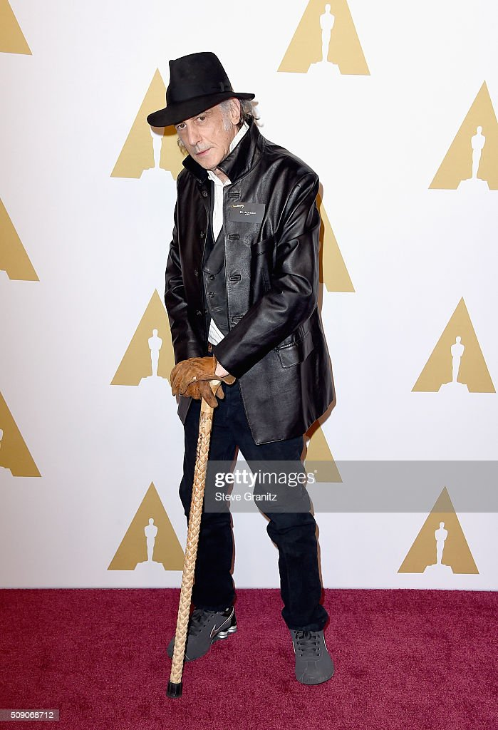 Cinematographer Ed Lachman attends the 88th Annual Academy Awards nominee luncheon on February 8, 2016 in Beverly Hills, California.