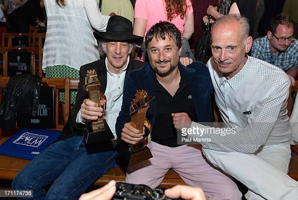 Cinematographer Ed Lachman receives the Faith Hubley Career Achievment Award and Harmony Korine receives the Filmmaker on the Edge Award with John...