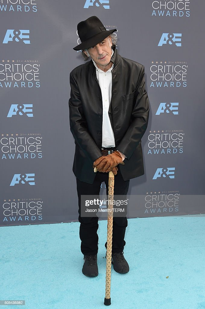 Cinematographer <a gi-track='captionPersonalityLinkClicked' href=/galleries/search?phrase=Edward+Lachman&family=editorial&specificpeople=3210117 ng-click='$event.stopPropagation()'>Edward Lachman</a> attends the 21st Annual Critics' Choice Awards at Barker Hangar on January 17, 2016 in Santa Monica, California.