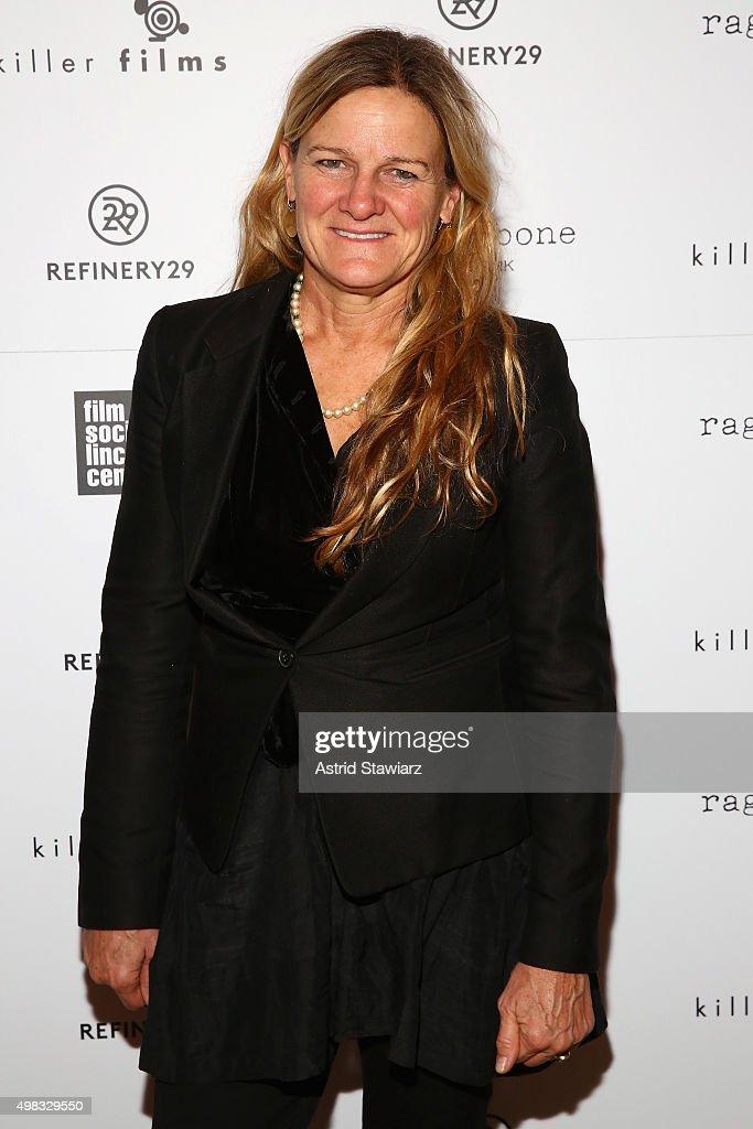 Cinematographer Ellen Kuras attends Killer Films' 20th Anniversary Celebration presented by Refinery29 in partnership with Rag Bone at The Django at...