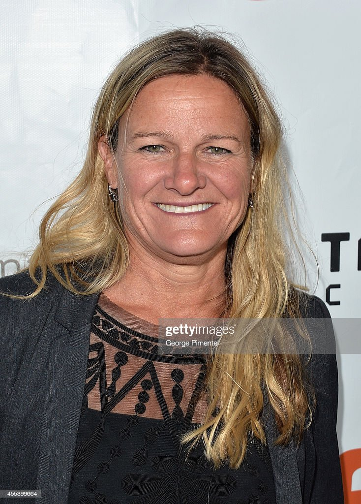Cinematographer Ellen Kuras attends the 'A Little Chaos' premiere during the 2014 Toronto International Film Festival at Roy Thomson Hall on...