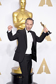 Cinematographer Emmanuel Lubezki winner of the Best Cinematography award for 'The Revenant' poses in the press room during the 88th Annual Academy...