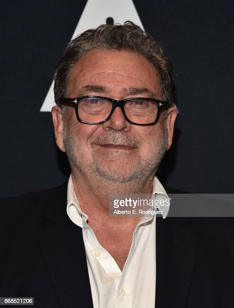 Cinematographer Guillermo Navarro attends The Academy Presents A Screening And Conversation For 'Pan's Labyrinth' at The Samuel Goldwyn Theater on...