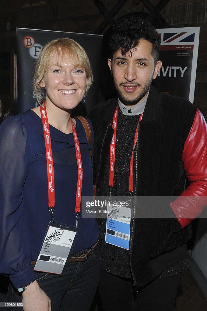 Cinematographer Kate Reid and director Fyzal Boulifa attend the UK Film Brunch at Sundance - 2013 Park City on January 20, 2013 in Park City, Utah.