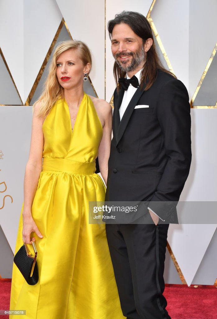 Cinematographer Linus Sandgren (R) attends the 89th Annual Academy Awards at Hollywood & Highland Center on February 26, 2017 in Hollywood, California.