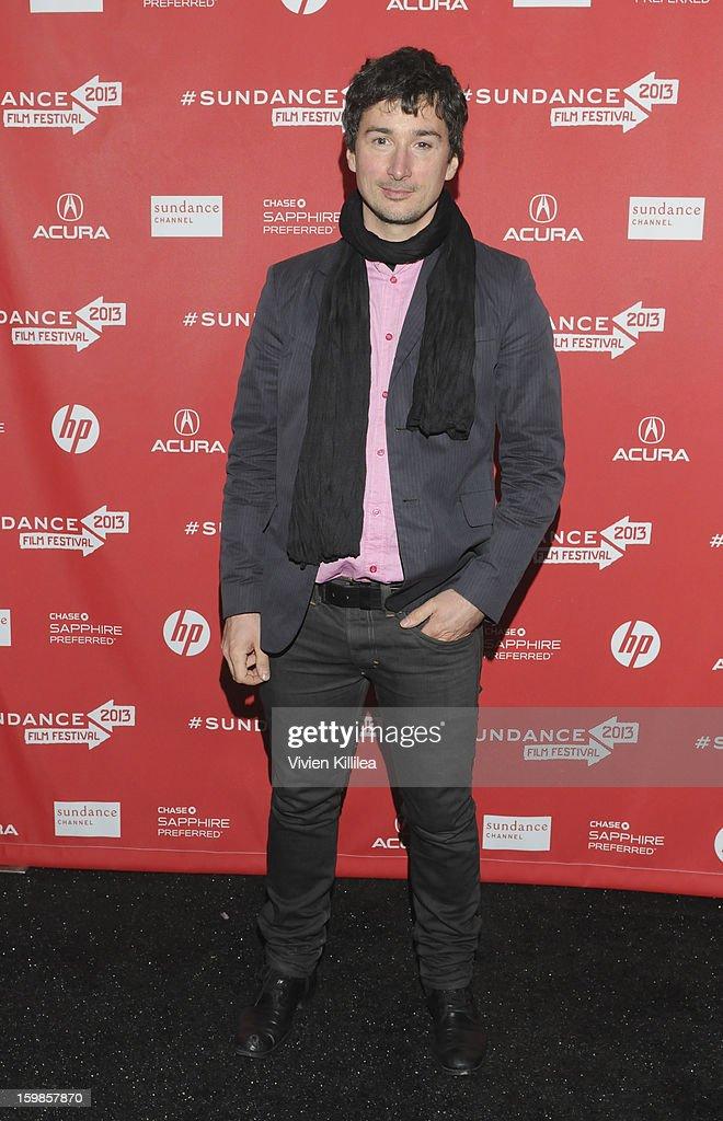 Cinematographer Matthias Grunsky attends 'Computer Chess' Premiere - 2013 Sundance Film Festival at Library Center Theater on January 21, 2013 in Park City, Utah.