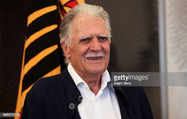 Cinematographer Michael Ballhaus receives the Federal Cross of Merit at Bellevue Palace on August 27 2015 in Berlin Germany Ballhaus is best known...
