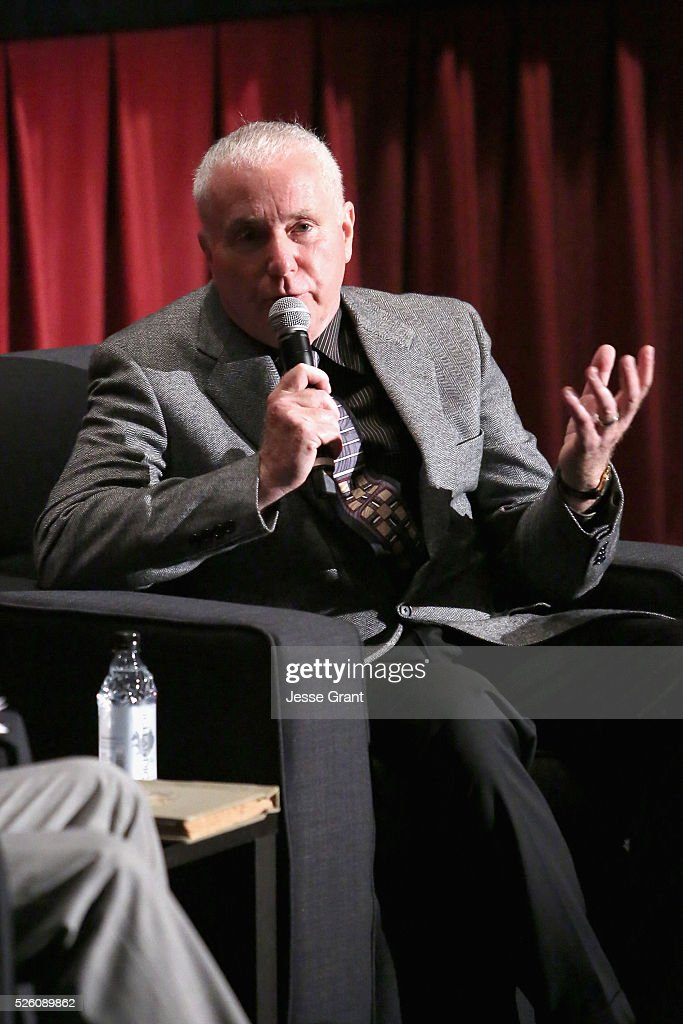Cinematographer Nicholas Josef von Sternberg speaks onstage during 'Never Fear' screening during day 2 of the TCM Classic Film Festival 2016 on April 29, 2016 in Los Angeles, California. 25826_009