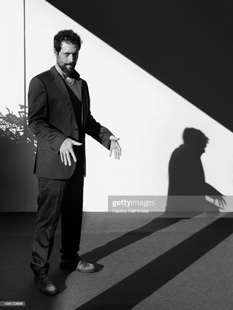 Cinematographer <a gi-track='captionPersonalityLinkClicked' href=/galleries/search?phrase=Noaz+Deshe&family=editorial&specificpeople=7647601 ng-click='$event.stopPropagation()'>Noaz Deshe</a> is photographed for Vanity Fair - Italy on September 1, 2013 in Venice, Italy.