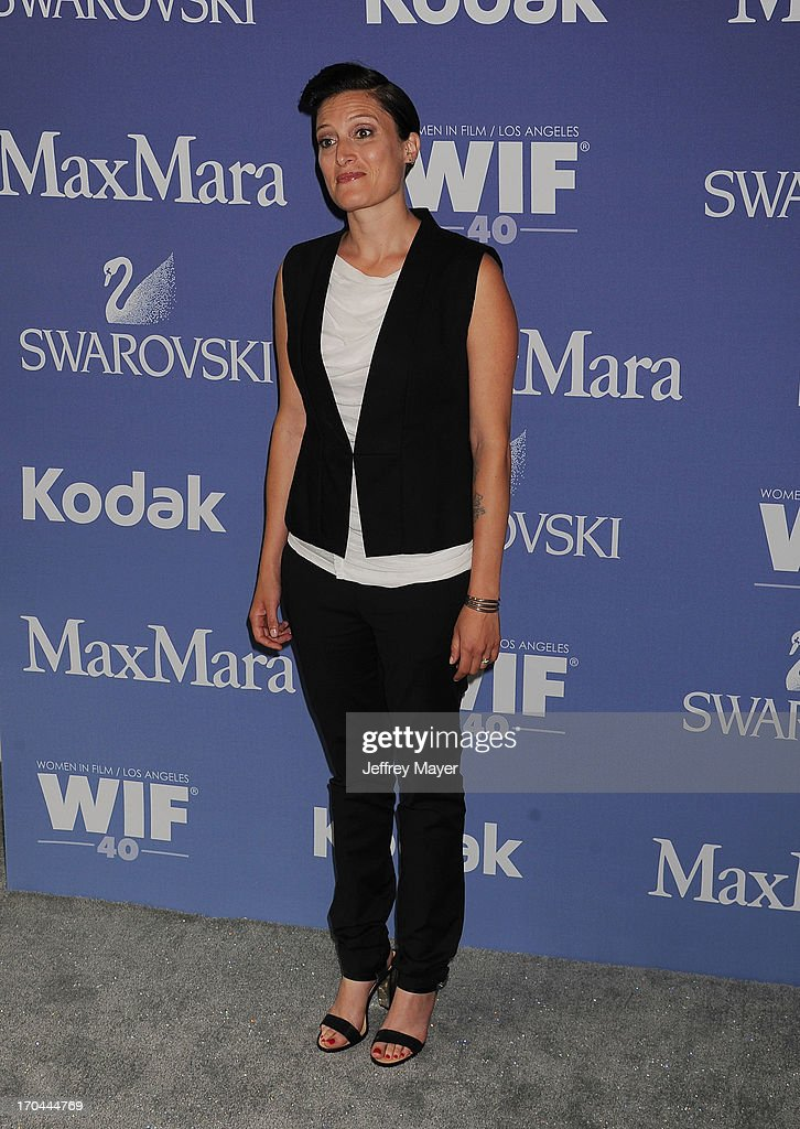 Cinematographer Rachel Morrison attends Women In Film's 2013 Crystal + Lucy Awards at The Beverly Hilton Hotel on June 12, 2013 in Beverly Hills, California.