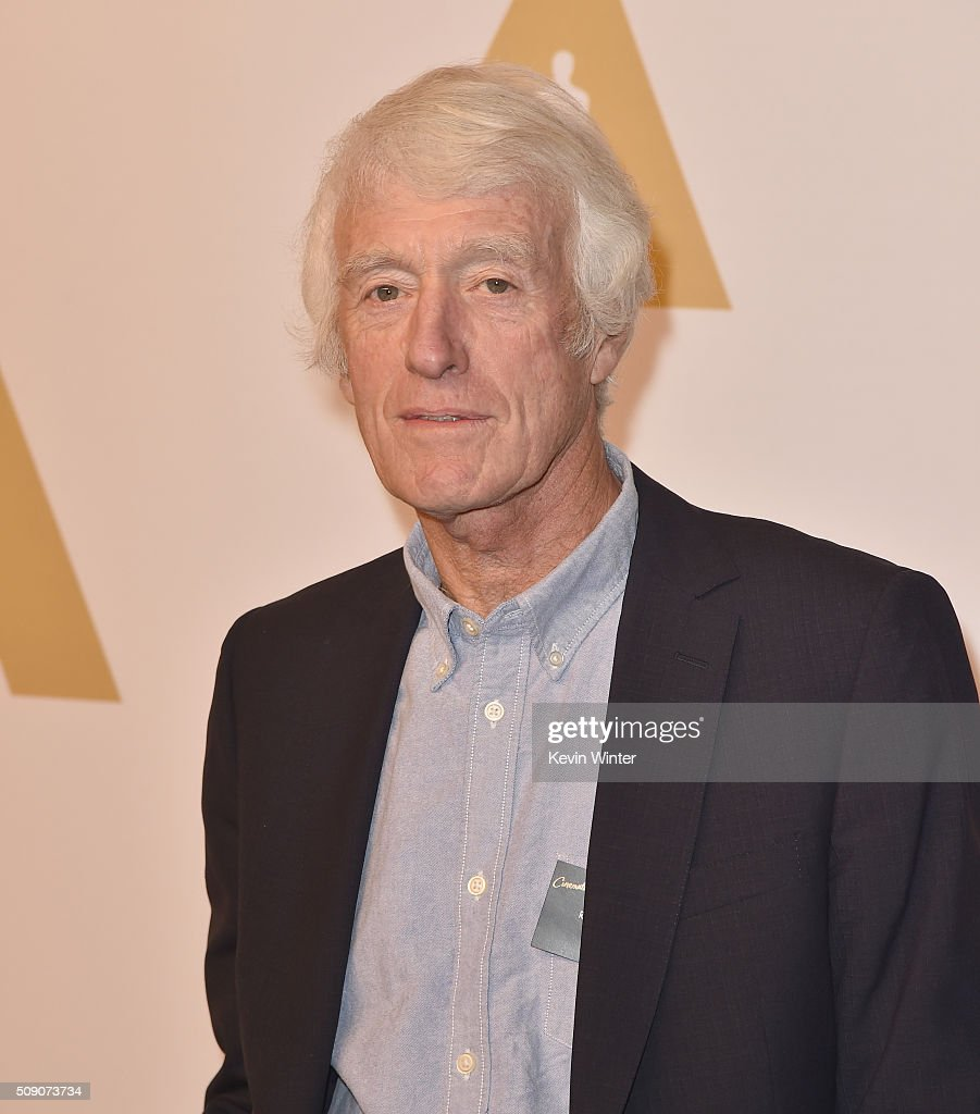 Cinematographer <a gi-track='captionPersonalityLinkClicked' href=/galleries/search?phrase=Roger+Deakins&family=editorial&specificpeople=4619685 ng-click='$event.stopPropagation()'>Roger Deakins</a> attends the 88th Annual Academy Awards nominee luncheon on February 8, 2016 in Beverly Hills, California.