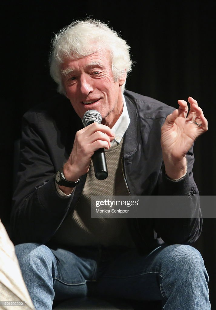 Cinematographer Roger Deakins speaks at the panel discussion following MoMA Film's THE CONTENDERS Screening Of SICARIO at MOMA on December 15, 2015 in New York City.