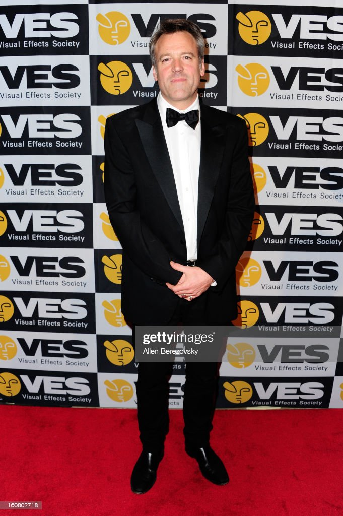 Cinematographer Wally Pfister arrives at the 2013 Visual Effects Society Awards at The Beverly Hilton Hotel on February 5, 2013 in Beverly Hills, California.