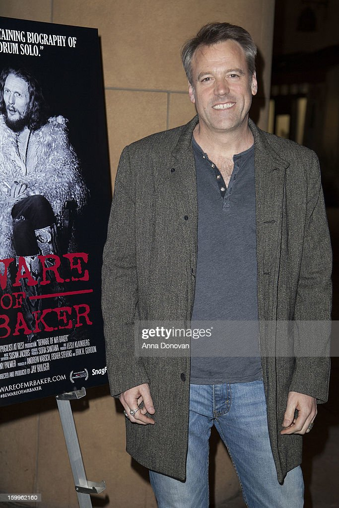 Cinematographer Wally Pfister attends a special screening of 'Beware Of Mr Baker' at the Egyptian Theatre on January 23 2013 in Hollywood California