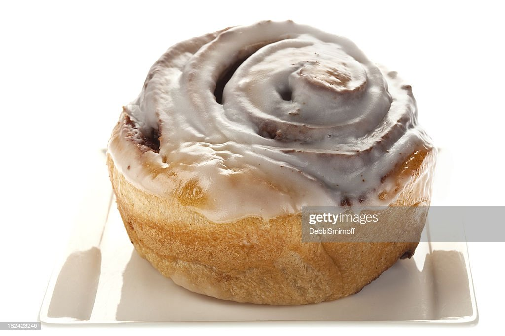 Cinnamon Bun With Icing