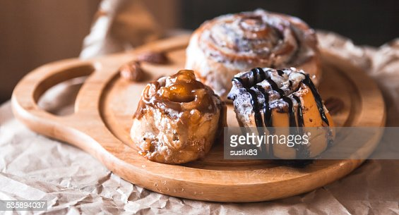 cinnamon cake with coffee : Stockfoto