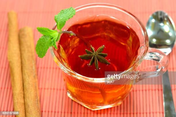 Cinnamon Mint Tea