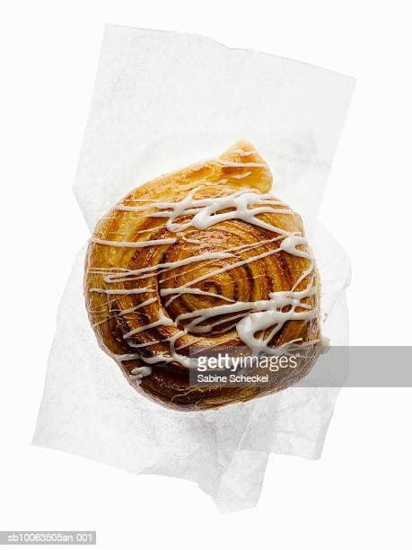 Cinnamon Bun Stock Photos and Pictures