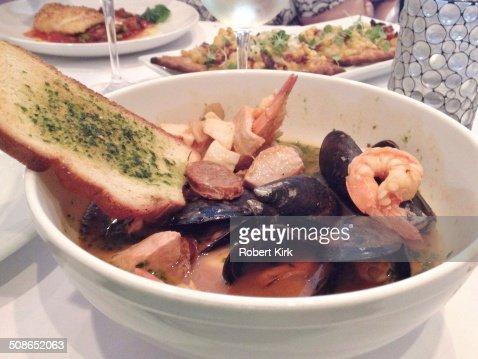 Cioppino or Fish Stew : Stock Photo