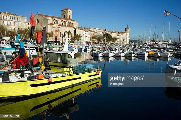 Ciotat harbour. France