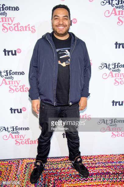 Cipha Sounds attends 'At Home With Amy Sedaris' New York Screening at The Bowery Hotel on October 19 2017 in New York City