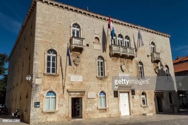 Cipiko Palace in Trogir , Croatia