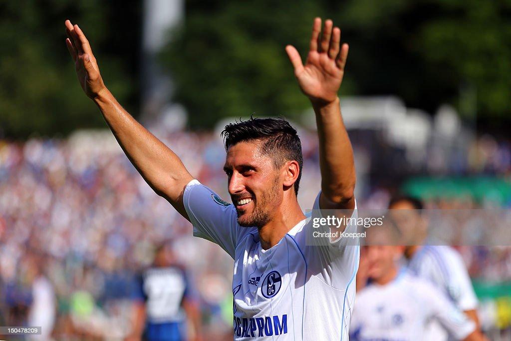1. FC Saarbruecken v Schalke 04 - DFB Cup