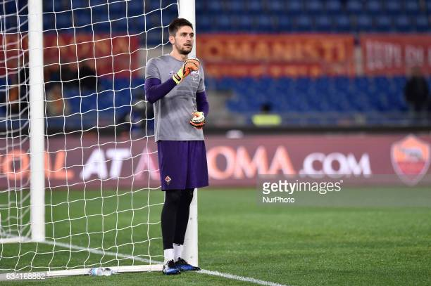 Ciprian Ttruanu of Fiorentina during the Serie A match between Roma and Fiorentina at Olympic Stadium Roma Italy on 07 Feb 2017 Photo by Giuseppe...