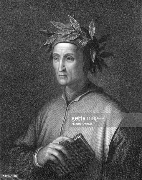 Circa 1300 Dante Alighieri the Italian poet