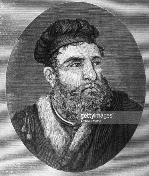Circa 1300 Venetian traveler Marco Polo in the court of the Great Khan Kublai Entered the Khan's diplomatic service and famously traveled cross China...