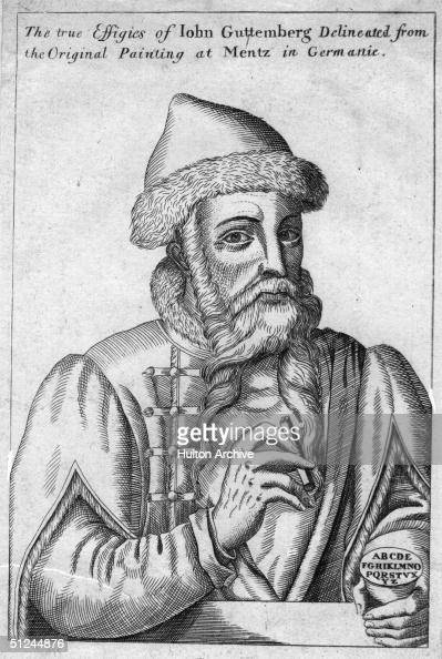 the life and times of johannes gutenberg Johannes gutenberg biography j-gutenberg johannes gutenberg (c 1398 –  february 3, 1468) was a german blacksmith, goldsmith, printer, and publisher  who.